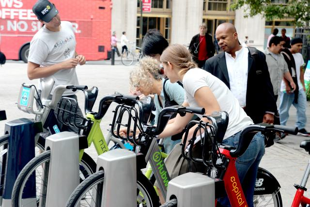 Demo citi bike station