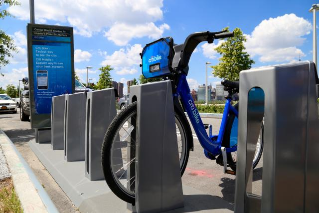 Citi Bike station in Queens
