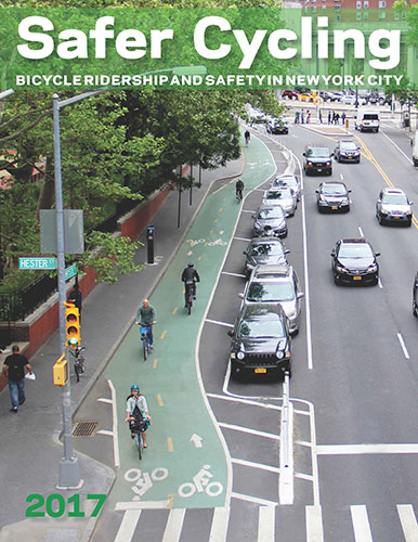 Safer Cycling: Bicycle Ridership and Safety in New York City