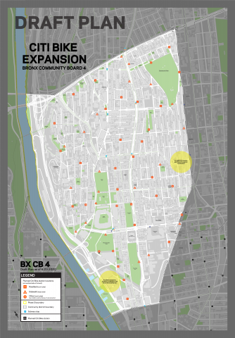 The draft plan for Bronx's Community Board 4